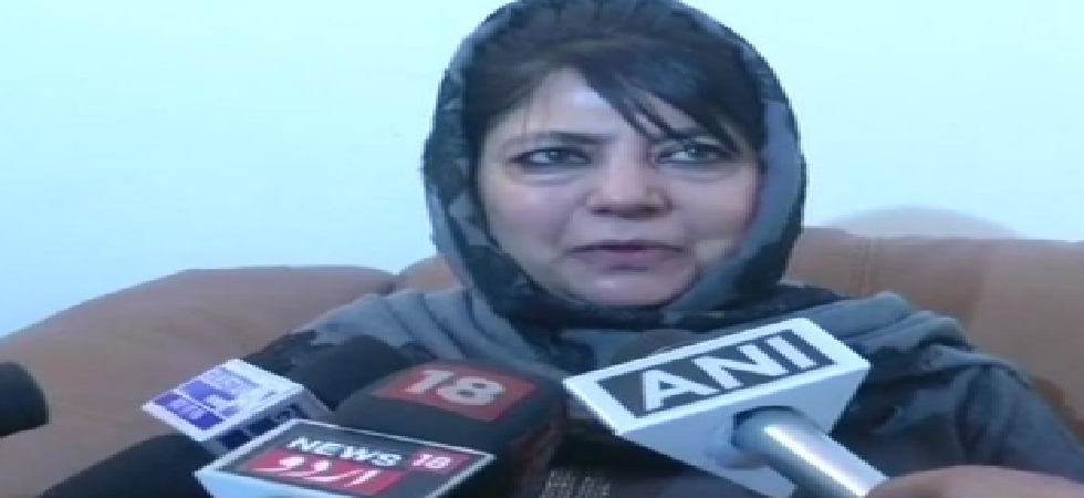 Mehbooba Mufti, Jammu and Kashmir's former chief minister.