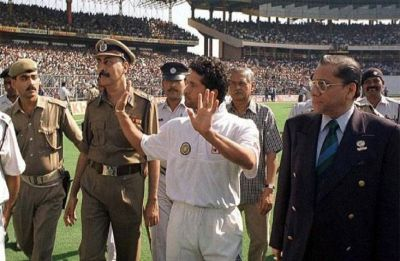 On This Day – India vs Pakistan Test hit by Eden Gardens riot over Sachin Tendulkar run-out