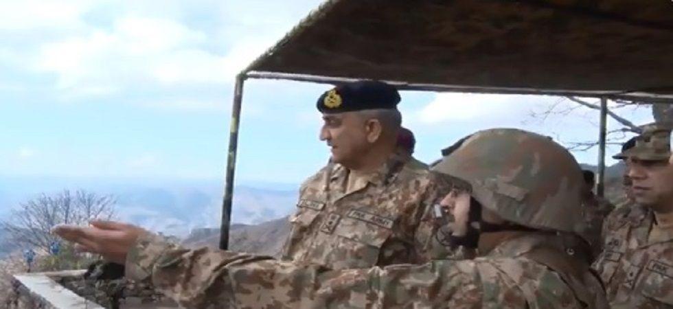 Pakistan Army General Qamar Bajwa visits LOC, asks troops 'to be ready'. (Radio Pakistan).