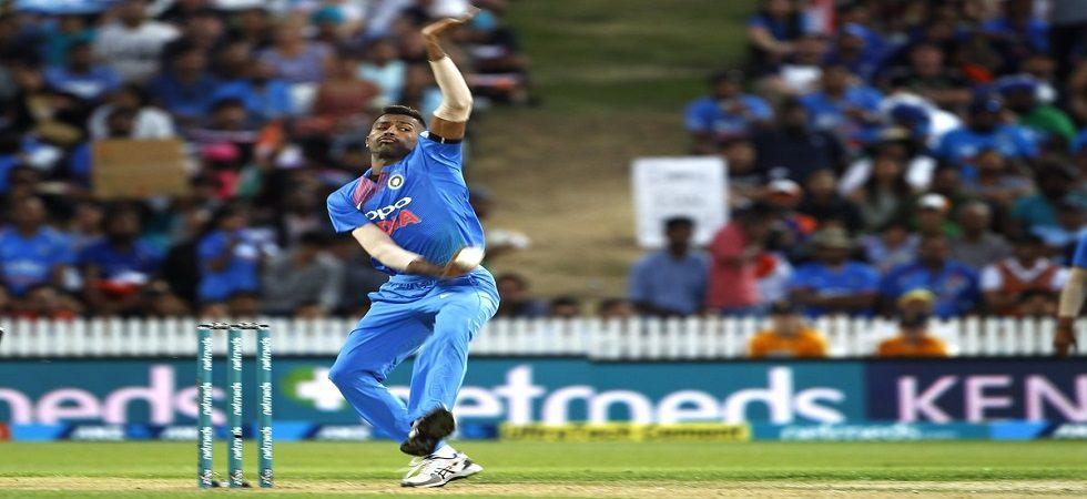 Hardik Pandya ruled out of the upcoming ODI series against Australia (Image Credit: BCCI Twitter)