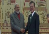 LIVE: PM Modi meets South Korean President Moon Jae-in at Blue House in Seoul