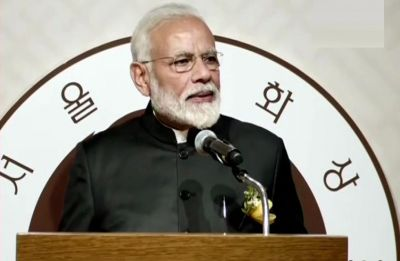 PM Modi conferred with Seoul Peace Prize, donates prize money to Namami Gange projects
