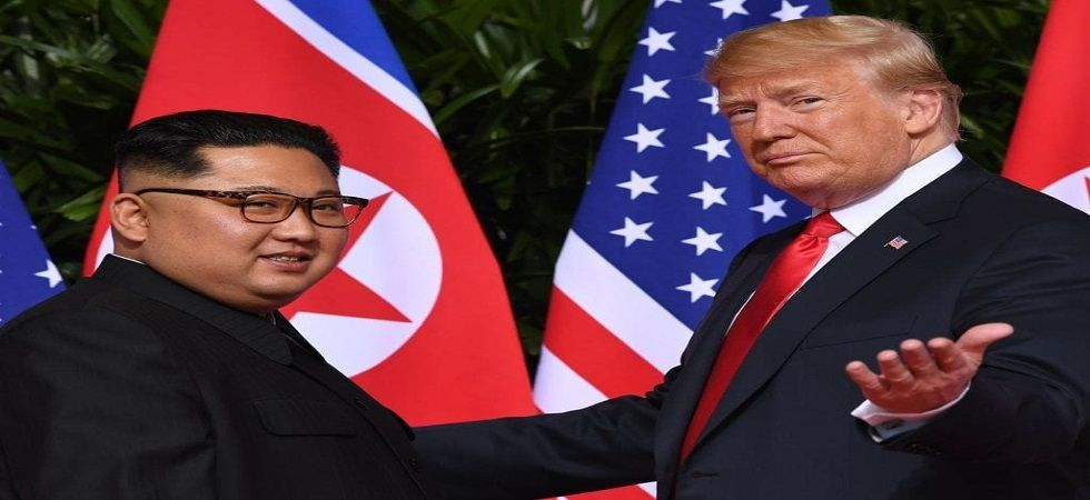 The first one was on June 12 in Singapore, which was part of the president's effort to improve his country's relationship with North Korea and ultimately have a denuclearised state. (File photo)