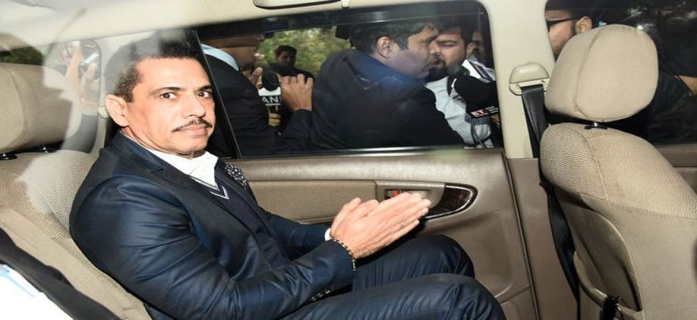 Robert Vadra offers health tips to Enforcement Directorate officials - see pic (File Photo)