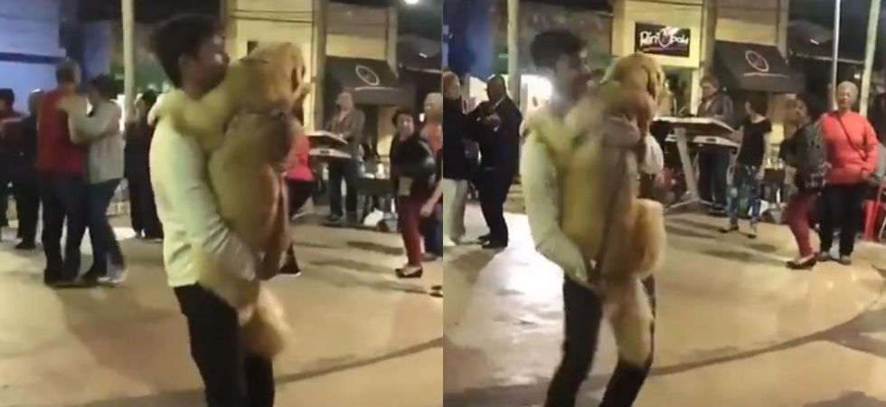 This video of man dancing with dog to 'Careless Whisper' is the best thing you'll see today.