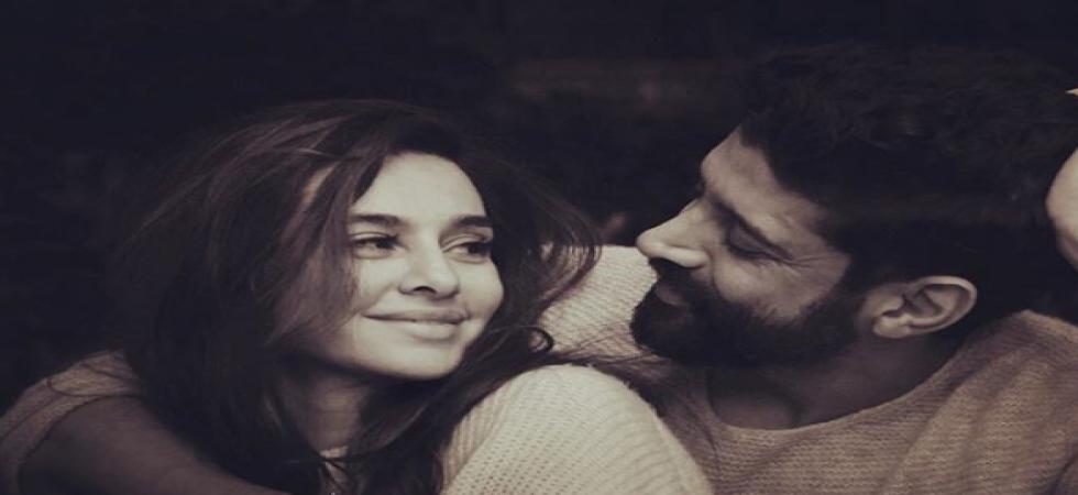 Farhan Akhtar and Shibani Dandekar celebrate 365 days of togetherness./ Image: Instagram