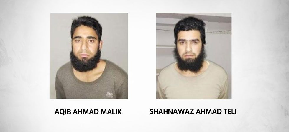 Shahnawaz is from Kulgam and Aqib is from Pulwama. (Photos: ANI)