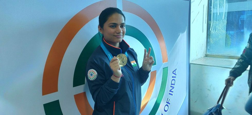 Apurvi Chandela has won the gold medal in the 10m air rifle event at the ISSF Shooting World Cup in New Delhi. (Image credit: Twitter)