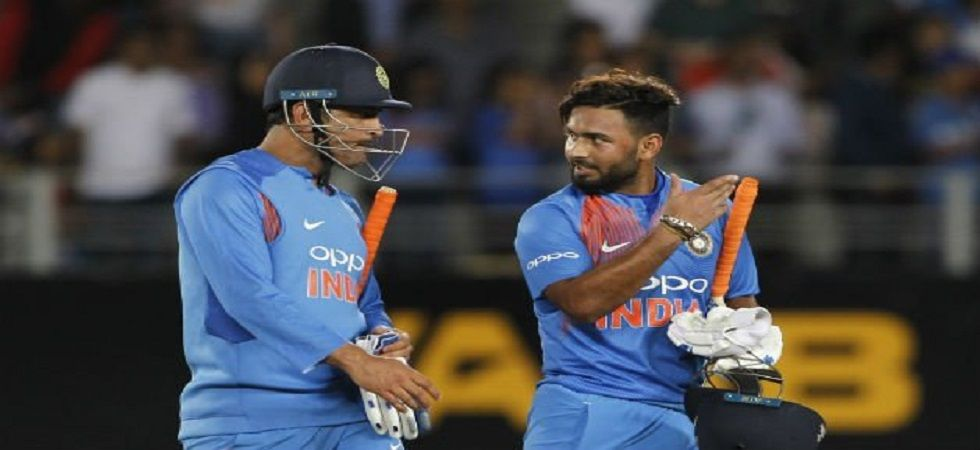 Rishabh Pant has teased MS Dhoni just before the Indian Premier League 2019 in a unique way. (Image credit: Twitter)
