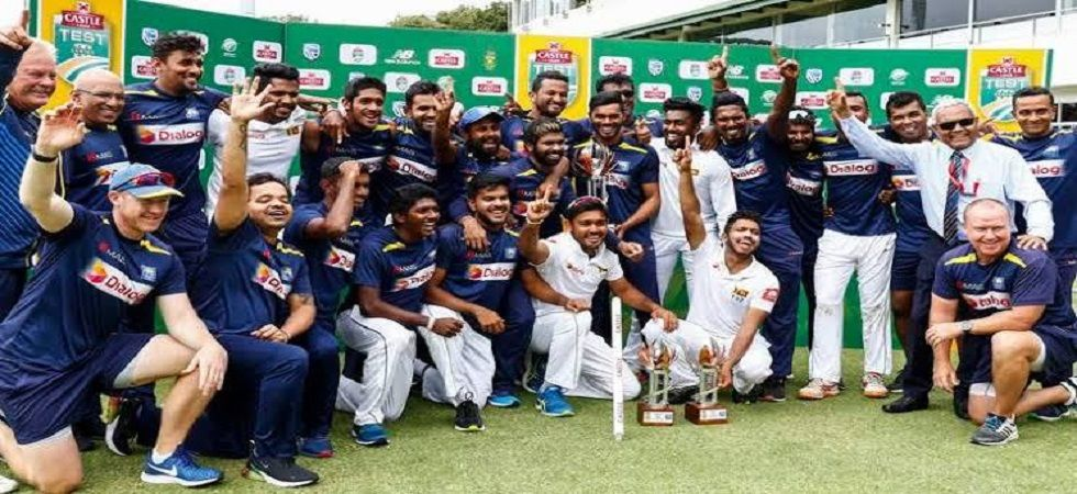 Sri Lanka became the first Asian nation to win a Test series in South Africa. (Image credit: Twitter)