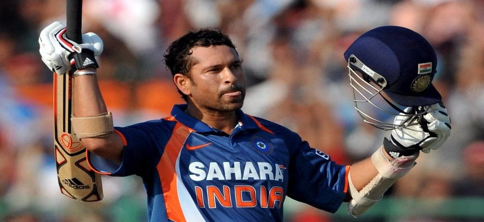 Sachin Tendulkar became the first man to smash a double century in ODIs and it was achieved on this day nine years ago. (Image credit: Twitter)