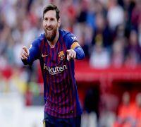 Lionel Messi blasts 50th hat-trick, Barcelona thrash Sevilla in La Liga