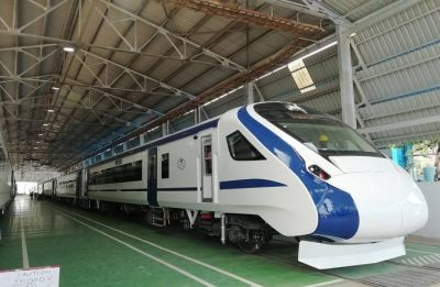 Stone chunks hit Vande Bharat Express, driver's screen, windows damaged