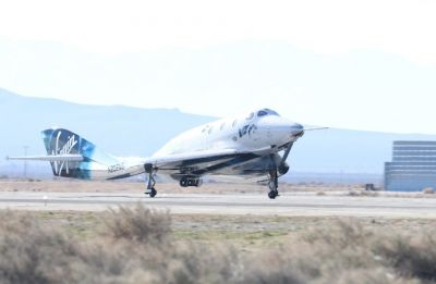 Virgin Galactic spacecraft sets new speed, altitude record
