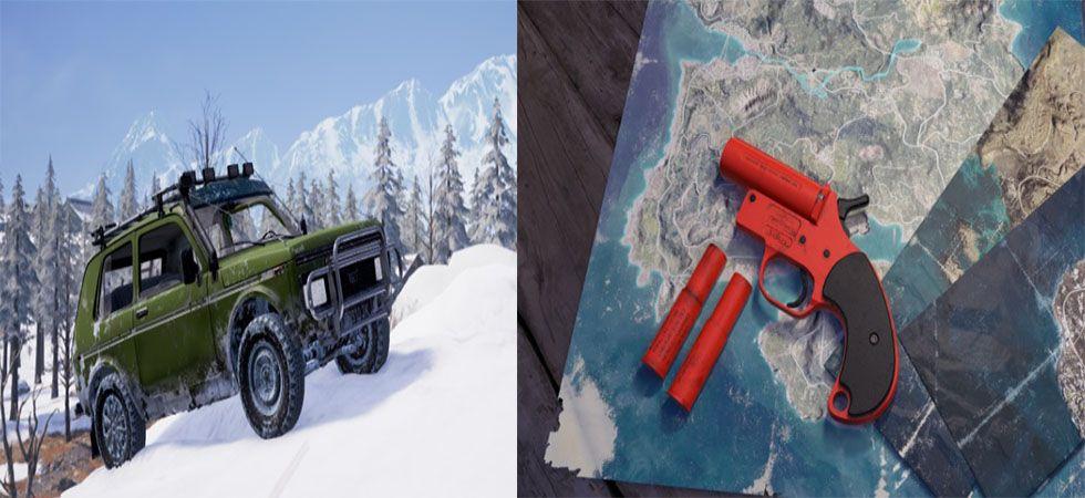 PUBG introduces new vehicles, flare guns for Vikendi mode (Image credit: PUBG website)