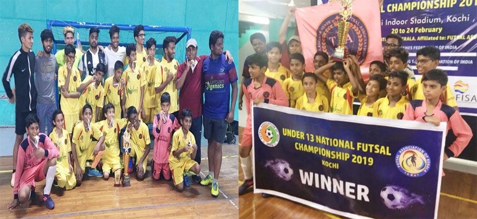 Telangana boys win Futsal Under 13 National Championship 2019