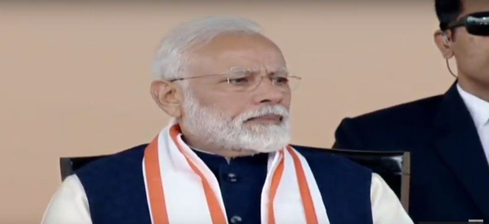 PM Narendra Modi addresses event at ISKCON temple, gets rousing welcome