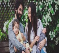 This picture of Mira Rajput and son Zain twinning in white will make you smile!