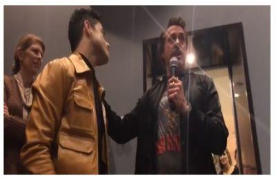 WATCH   Robert Downey Jr. give biggest compliment ever to Oscar winner Rami Malek for Bohemian Rhapsody
