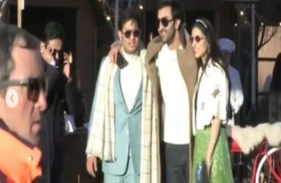 Alia Bhatt and Ranbir Kapoor attend Akash Ambani-Shloka Mehta's pre-wedding festivities in Switzerland