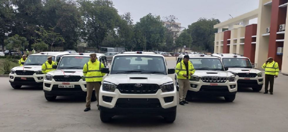 Gurugram police adds six new Mahindra Scorpio into its force (Twitter)