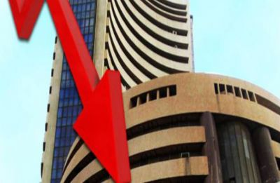 Sensex in red: Falls 200 points after Pakistan violates Indian air space
