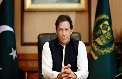 Did Imran Khan accept there were damages on Pakistan side after IAF strikes?