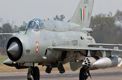 One IAF pilot Wing Commander took off in MiG 21 Bison today, he is yet to return: ANI