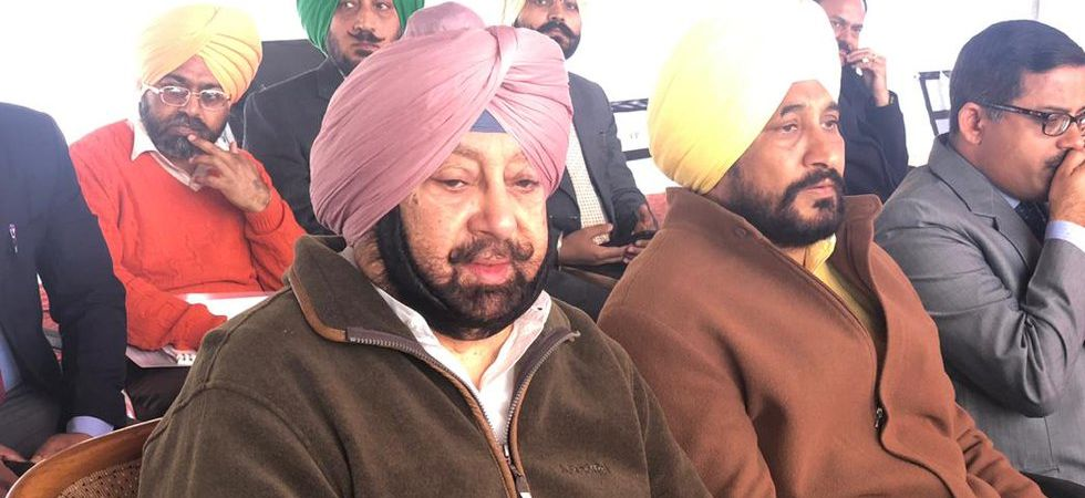 Chief Minister Amarinder Singh is presently touring the villages in Punjab, which share border with Pakistan. (Image Credit: Twitter)
