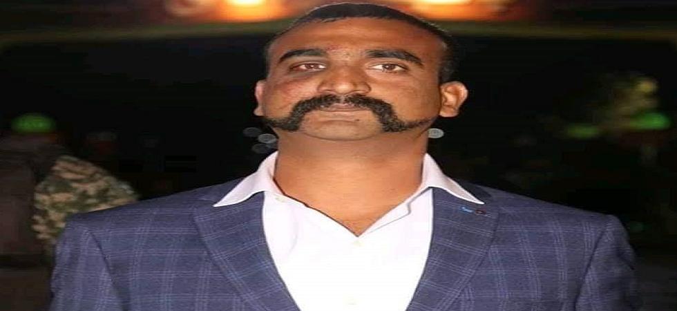 IAF pilot Wing Commander Abhinandan Varthaman. (Twitter)