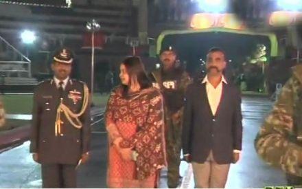 IAF Wing Commander Abhinandan's aircraft reaches Delhi's