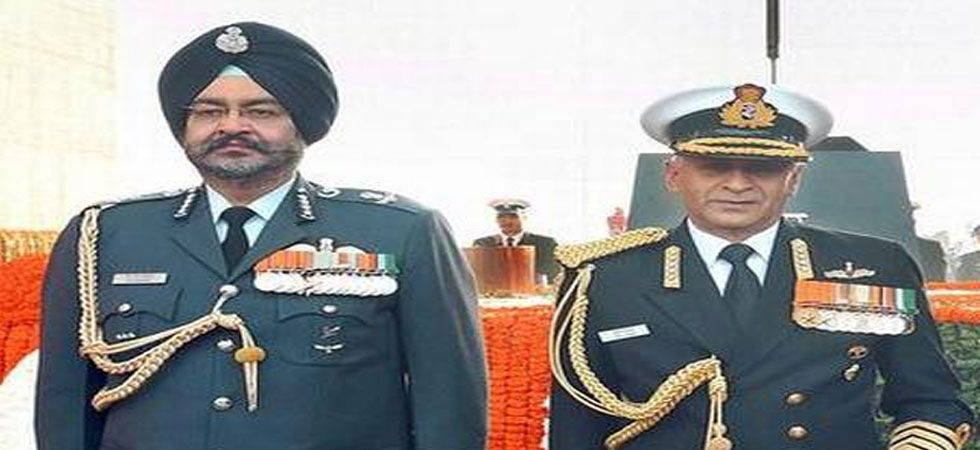 IAF chief Air Marshal BS Dhanoa and chief of Naval staff Admiral Sunil Lanba will be given Z-plus security. (File Photo)