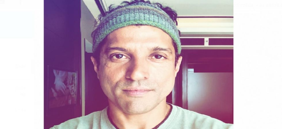 Farhan Akhtar shoots for the last leg of his next before kickstarting 'Toofan'