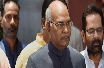 President Ram Nath Kovind issues order extending quota for EWS in Jammu and Kashmir