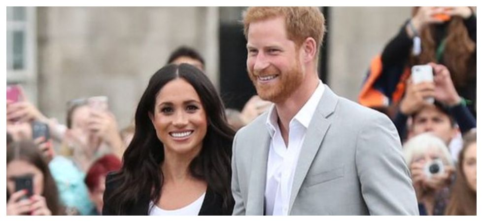 Prince Harry asks Meghan Markle if their royal baby is HIS (Photo: Twitter)