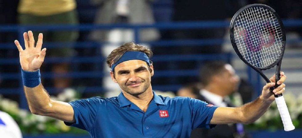Roger Federer became the second player after Jimmy Connors to win 100 or more ATP tour titles. (Image credit: Twitter)
