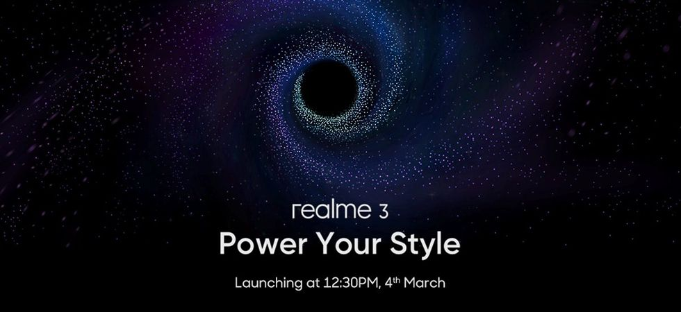 Image twitted by Realme