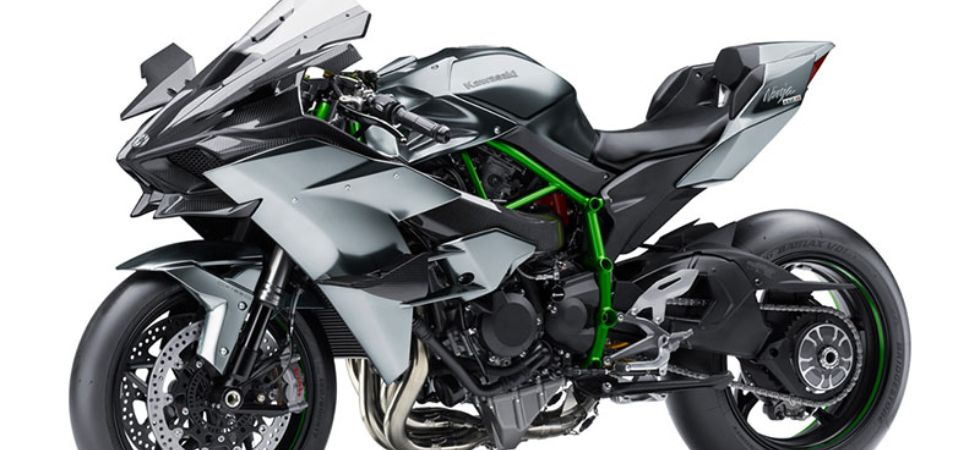 irst and only Kawasaki Ninja H2R to be delivered in India today. (File Photo)