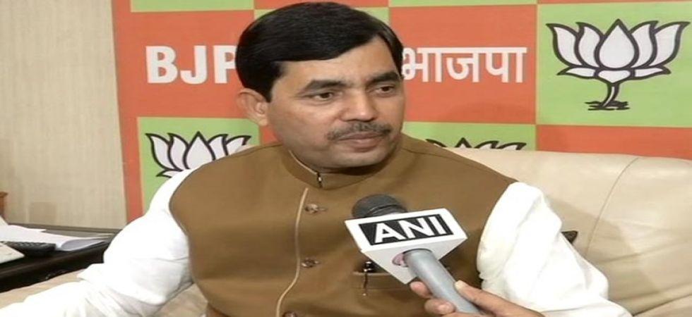 BJP Leader Shahnawaz Hussain (File Photo)