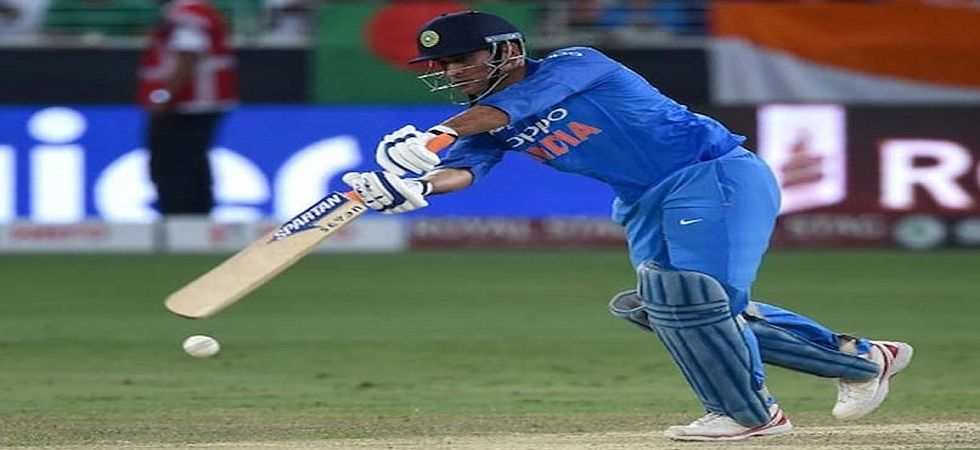 MS Dhoni became the fourth player after Sachin Tendulkar, Sourav Ganguly and Rahul Dravid to go past 13000 List A runs. (Image credit: Twitter)