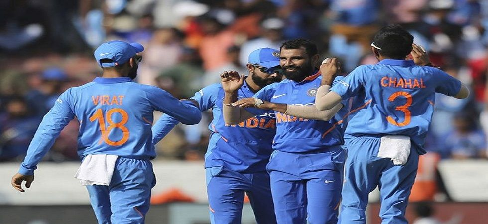 India put up a magnificent performance in the Hyderabad ODI against Australia to take the lead in the series. (Image credit: Twitter)