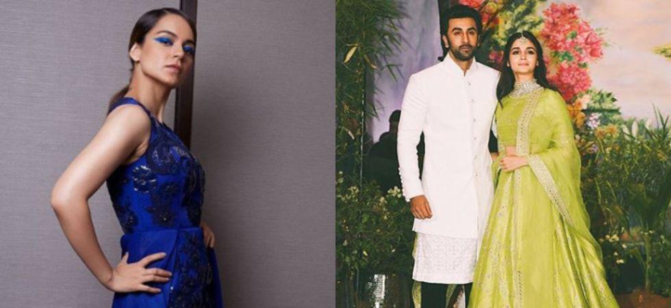 Kangana Ranaut calls Ranbir Kapoor and Alia Bhatt 'irresponsible' citizens./ Image: Instagram
