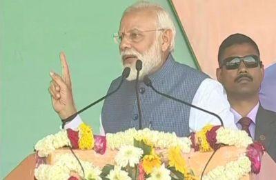 IAF entered into terrorists' home to revenge Pulwama attack, says PM Modi