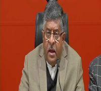 IAF strike proof row: Congress speaking in 'language of Pakistan,' says RS Prasad