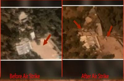 Pakistan's Balakot terror base destroyed in IAF's air strike, latest pictures prove it