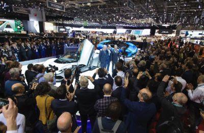 Battista, electric super car, unveiled by Mahindra Group firm Automobili Pininfarina