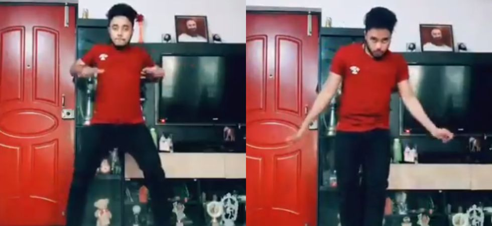 Tik Tok user Vaishakh Nair showed off some impeccable dance moves.