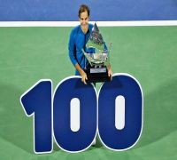 Roger Federer dismisses 'Superman' tag after winning record 100th ATP title