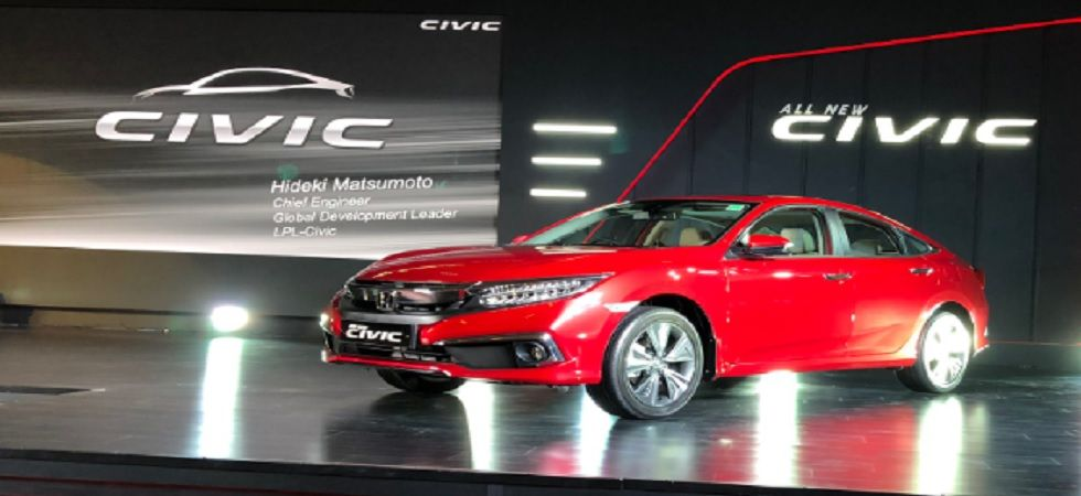 2019 Honda Civic launched in India at Rs 17.69 lakh (Twitter)