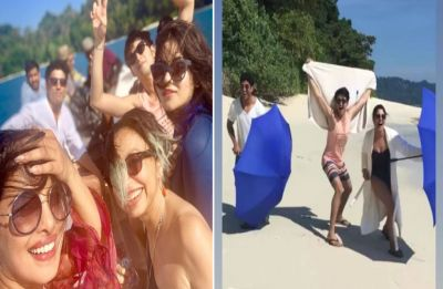 Priyanka Chopra's beach selfie is proof she is having gala time with the cast of The Sky Is Pink